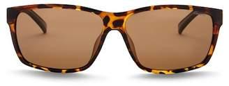Polaroid EYEWEAR Polarized 61mm Square Sunglasses