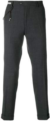 Berwich cropped tailored trousers