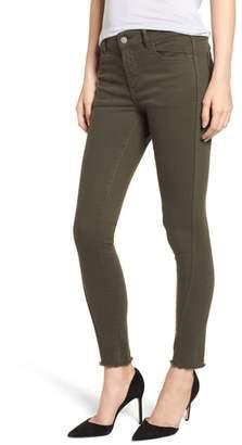 DL1961 Margaux Instasculpt Frayed Ankle Skinny Jeans