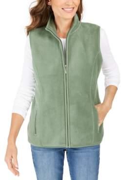 Karen Scott Zip-Up Vest, Created for Macy's