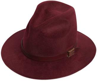 DSQUARED2 Logo Hatband Detail Wool Felt Hat