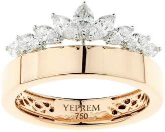 Yeprem Rose Gold Crown Ring