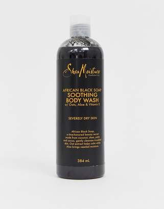 Shea Moisture african black soap soothing body wash 384ml