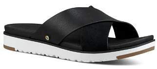UGG Women's Kari Leather Slide Sandals