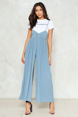 Nasty Gal Girl Take A Pleat Jumpsuit