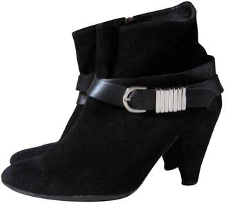 b9f3b80b02cf5 Sandro Black Leather Ankle boots