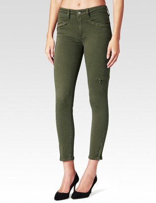 Daryn Zip Ankle - Olive Leaf $219 thestylecure.com