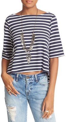Women's Free People Cannes Tee $68 thestylecure.com
