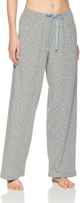 Hue Women's Plus Size Printed Knit Long Pajama Sleep Pant