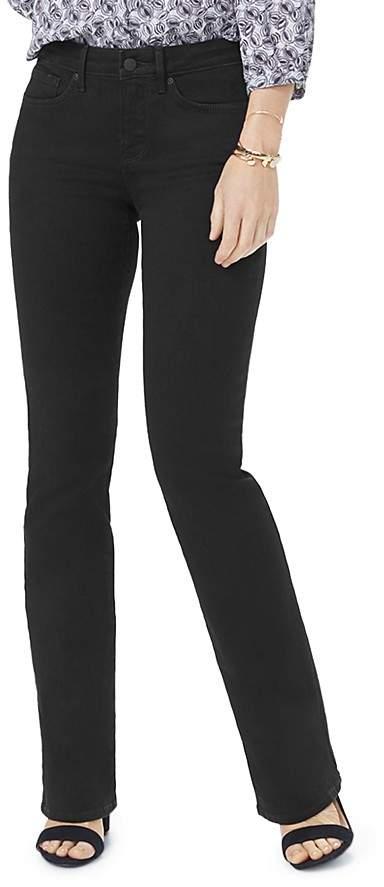 NYDJ Barbara Bootcut Jeans in Black