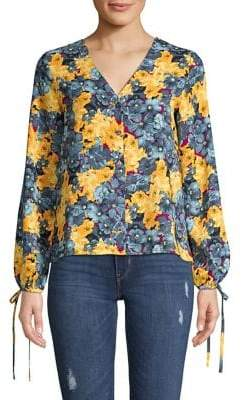 Vero Moda Floral Puff Sleeve Blouse