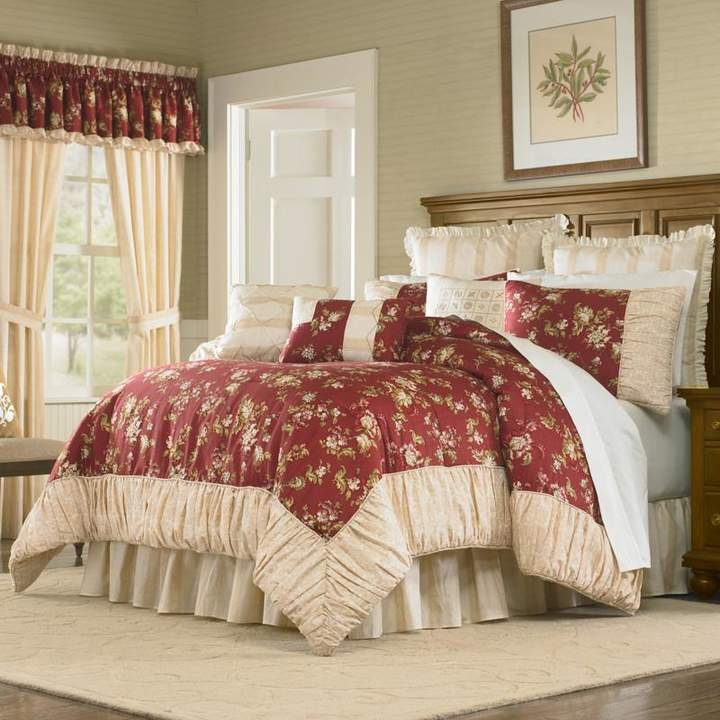 Peking Handicraft, Inc. MaryJane's Home Sunset Serenade 4pc Comforter Set - King