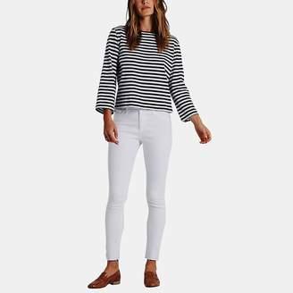AG Jeans Farrah Skinny Jean in White