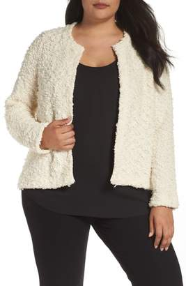 Eileen Fisher Textured Organic Cotton Jacket