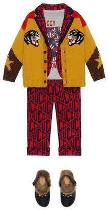 Gucci Children's game cotton jacket