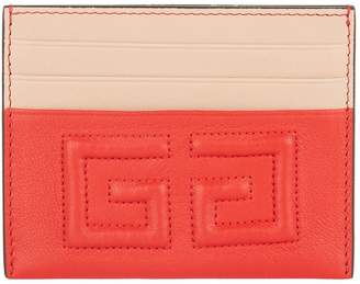 Givenchy Leather 4G Card Holder