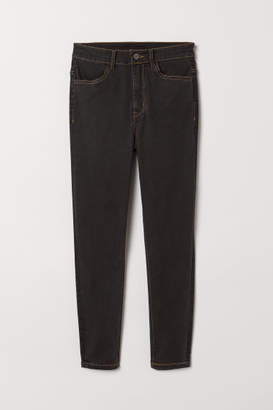 H&M Skinny High Jeans - Black