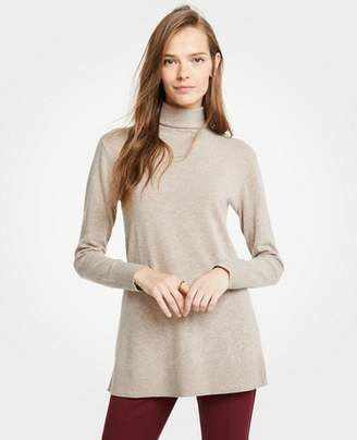Ann Taylor Petite Turtleneck Tunic Sweater