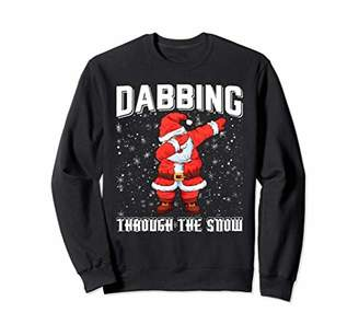 Dabbin Through The Snow Christmas Ugly Sweaters T-Shirt