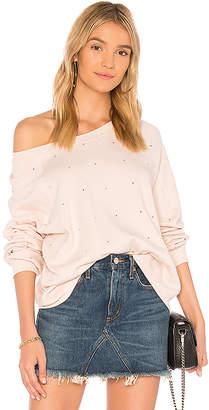 Wildfox Couture Allover Glitz Sweatshirt