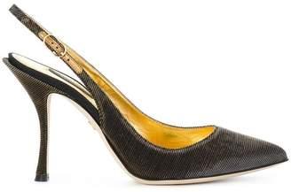 Dolce & Gabbana sling back pumps