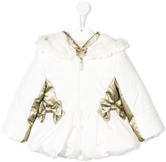 Lapin House padded bow jacket