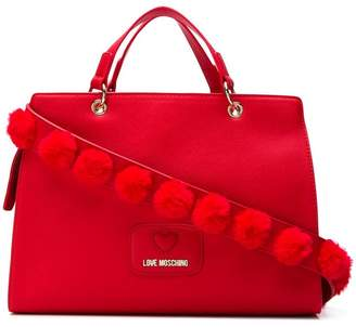 Love Moschino square shaped tote bag