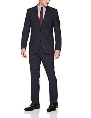 Kenneth Cole New York Men's Slim Fit 2 Button Wool Stretch Suit