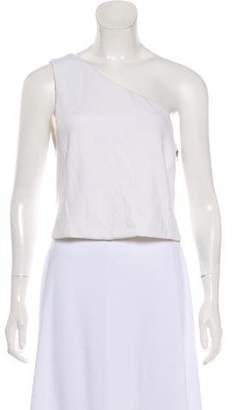 Alice + Olivia Sleeveless One-Shoulder Top w/ Tags
