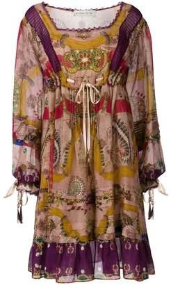Etro flared printed dress