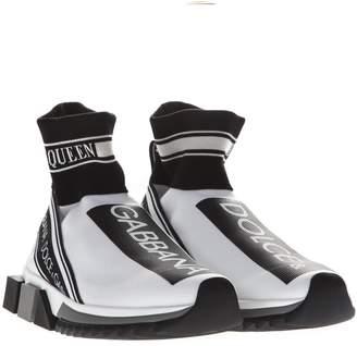Dolce & Gabbana Sorrento Black & White Sneakers