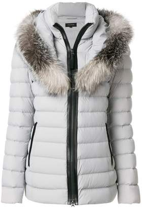 Mackage fur trimmed padded coat