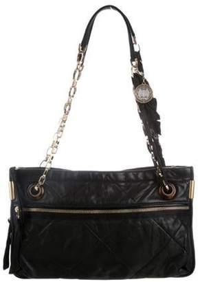 Lanvin Amalia Leather Shoulder Bag Black Amalia Leather Shoulder Bag