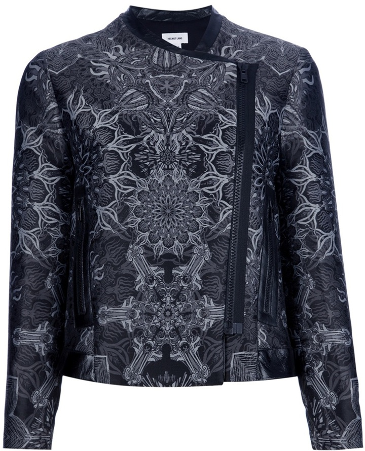 Helmut Lang printed jacket