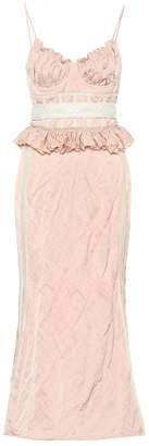 Brock Collection Orely cotton-blend midi dress