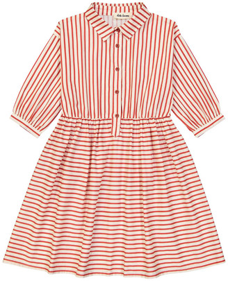 HELLO SIMONE Nephtys Striped Shirt Dress $120 thestylecure.com