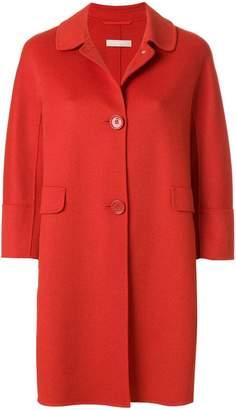 Max Mara 'S concealed fastening midi coat