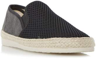 Dune Finchley mesh and canvas espadrilles