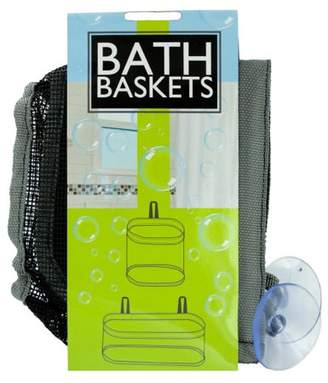 Bulk Buys Mesh Bath Baskets Set (Pack Of 4)