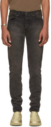 Yeezy Black Five-Pocket Jeans