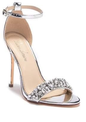Ralph Lauren Lorraine Bernie Embellished Metallic Sandal