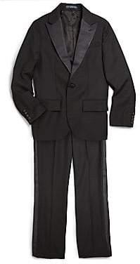 Ralph Lauren Boy's Two-Piece Wool Suit Set