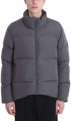 Bacon Clothing Dark Grey Polyester Down Jacket