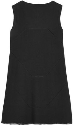 Alaia Pointelle-trimmed Stretch-ponte Top