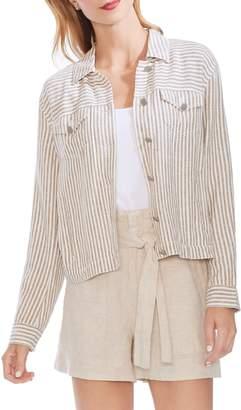 Vince Camuto Natural Stripe Jacket
