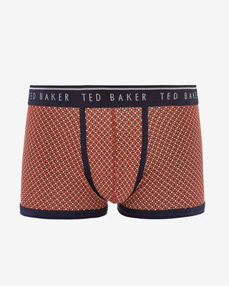 Ted Baker TOOHUSH Geo print cotton boxer shorts