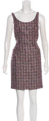 Carmen Marc Valvo Woven Mini Dress w/ Tags
