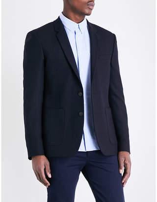 Sandro Regular-fit wool-blend jacket