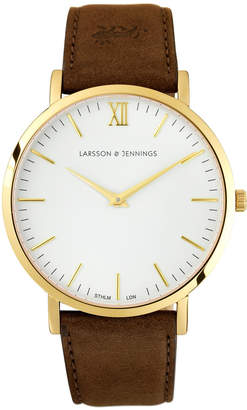 Larsson & Jennings LJ-W-LBRN-S-GW Lugano 40 Watch