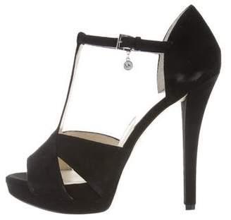 MICHAEL Michael Kors T-Strap Platform Sandals